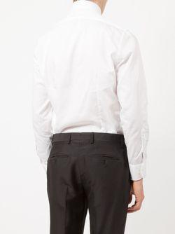 Classic Casual Shirt Lardini                                                                                                              белый цвет