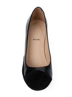Туфли На Массивном Каблуке AALTO                                                                                                              чёрный цвет