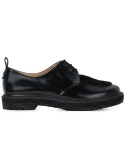 Туфли-Дерби С Панельным Дизайном AALTO                                                                                                              черный цвет