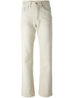 Distressed Straight Leg Jeans HELMUT LANG VINTAGE                                                                                                              Nude & Neutrals цвет
