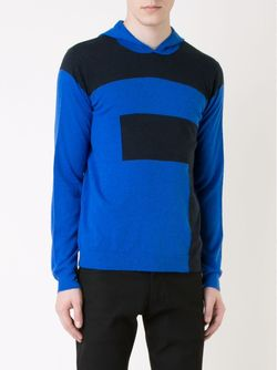 Colour Block Hooded Sweater T By Alexander Wang                                                                                                              черный цвет
