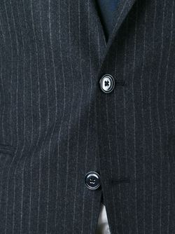 Pinstriped Two Piece Suit Tagliatore                                                                                                              серый цвет
