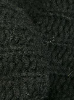 Трикотажный Шарф-Снуд Ann Demeulemeester                                                                                                              черный цвет