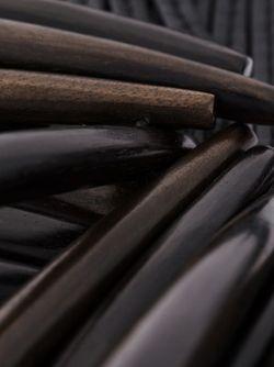 Колье С Деревянными Планками MONIES                                                                                                              чёрный цвет
