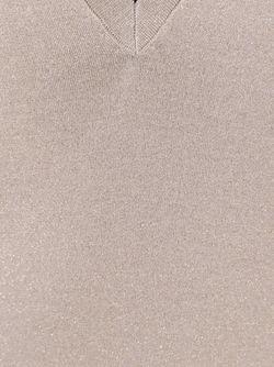 Свитер С V-Образным Вырезом Brunello Cucinelli                                                                                                              Nude & Neutrals цвет