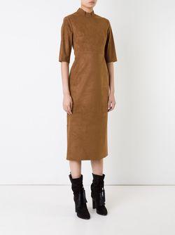 Narrow Dress LE CIEL BLEU                                                                                                              коричневый цвет