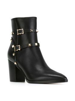 Ботинки Rockstud Valentino Garavani                                                                                                              чёрный цвет