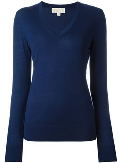 V-Neck Sweater Michael Michael Kors                                                                                                              синий цвет