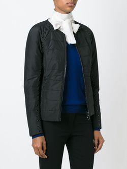 Padded Studded Jacket Michael Michael Kors                                                                                                              чёрный цвет