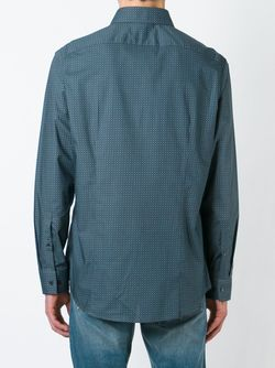 Рубашка С Мелким Узором Michael Kors                                                                                                              серый цвет