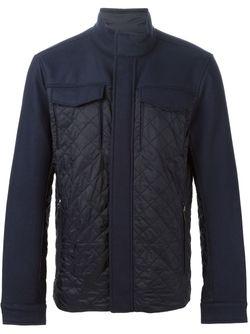 Стеганая Куртка Michael Kors                                                                                                              синий цвет
