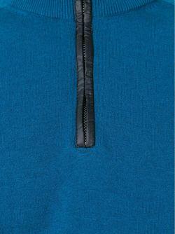 Свитер С Отворотной Горловиной На Молнии Michael Kors                                                                                                              синий цвет