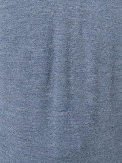 Свитер С Полосками На Рукаве Thom Browne                                                                                                              синий цвет