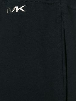 Спортивные Брюки Прямого Кроя Michael Kors                                                                                                              черный цвет