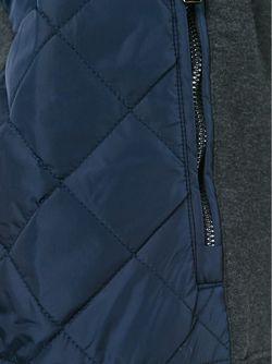 Свитер Со Стегаными Панелями Michael Kors                                                                                                              серый цвет