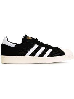 Кроссовки Superstar 80s Primeknit adidas Originals                                                                                                              чёрный цвет