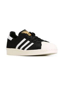 Кроссовки Superstar 80s Primeknit adidas Originals                                                                                                              черный цвет