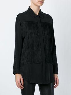 Блузка С Бахромой 8pm                                                                                                              чёрный цвет