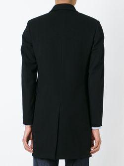Однобортное Пальто PAUL SMITH LONDON                                                                                                              черный цвет