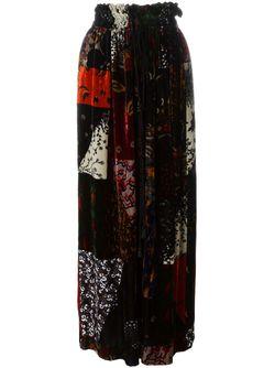 Плиссированная Юбка Chloe                                                                                                              черный цвет