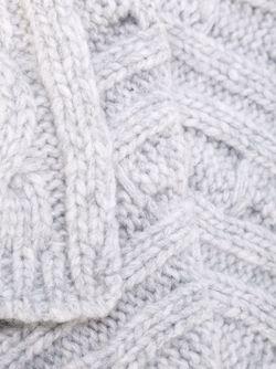 Трикотажный Шарф Woolrich                                                                                                              серый цвет