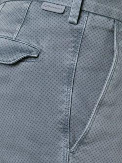 Брюки-Чинос В Мелкий Горошек Pt01                                                                                                              серый цвет