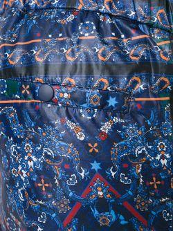 Спортивные Брюки С Принтом Yoshio Kubo                                                                                                              синий цвет