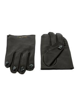 Декорированные Перчатки Undercover                                                                                                              чёрный цвет