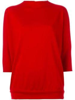 Трикотажный Свитер Sybilla                                                                                                              красный цвет