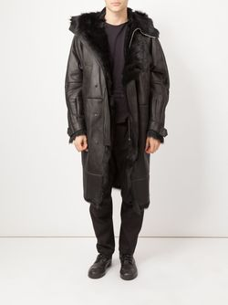 Hooded Coat JUUN.J                                                                                                              черный цвет