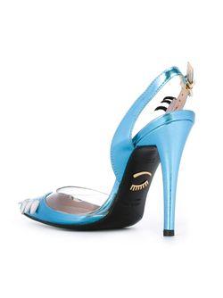 Туфли Holly Chiara Ferragni                                                                                                              синий цвет