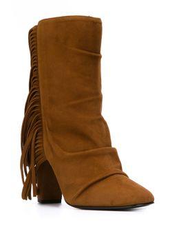 Ботинки По Щиколотку С Бахромой Giuseppe Zanotti Design                                                                                                              коричневый цвет