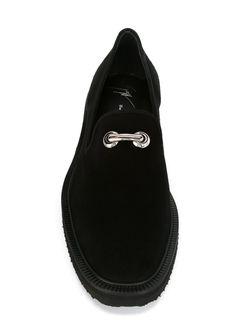 Лоферы С Пряжками Giuseppe Zanotti Design                                                                                                              черный цвет