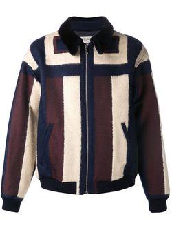 Куртка-Бомбер С Панельным Дизайном Melindagloss                                                                                                              черный цвет