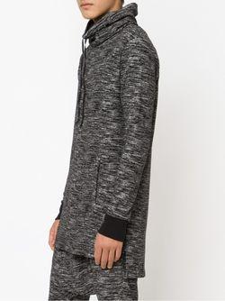 Funnel Neck Hoodie DRIFTER                                                                                                              серый цвет