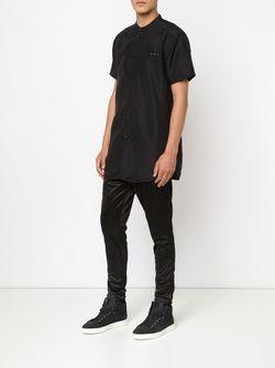 Рубашка С Короткими Рукавами Draco Publish                                                                                                              чёрный цвет