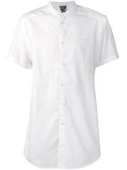 Рубашка С Короткими Рукавами Draco Publish                                                                                                              белый цвет