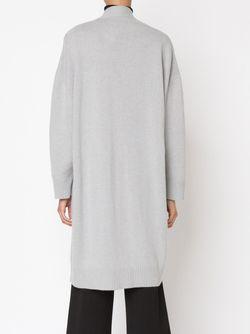 Удлиненный Кардиган RYAN ROCHE                                                                                                              серый цвет