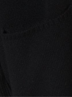Удлиненный Кардиган RYAN ROCHE                                                                                                              чёрный цвет