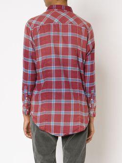 Фланелевая Рубашка Kimberly Nsf                                                                                                              красный цвет