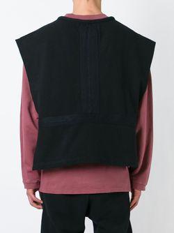 Укороченный Жилет Adidas Originals By Kanye West YEEZY                                                                                                              черный цвет