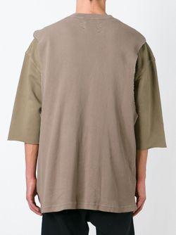 Футболка-Туника Adidas Originals By Kanye West YEEZY                                                                                                              коричневый цвет