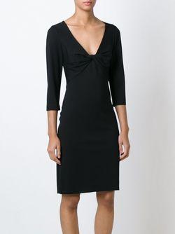 Платье С Деталью В Виде Узла Diane Von Furstenberg                                                                                                              черный цвет