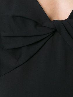 Платье С Деталью В Виде Узла Diane Von Furstenberg                                                                                                              чёрный цвет