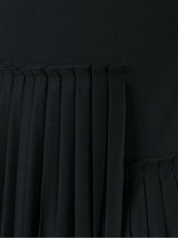 Pleated Dress MM6 by Maison Margiela                                                                                                              черный цвет