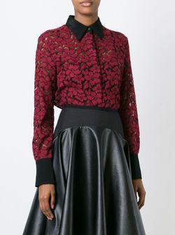 Блузка С Цветочным Кружевом 3.1 Phillip Lim                                                                                                              красный цвет