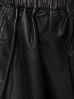 Кожаная Мини-Юбка Iro                                                                                                              черный цвет