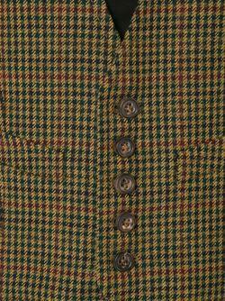Жилет В Ломаную Клетку Dsquared2                                                                                                              коричневый цвет