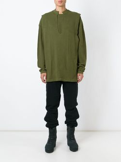Туника Adidas Originals By Kanye West YEEZY                                                                                                              зелёный цвет