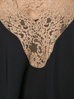 Платье 2 В 1 С Кружевной Отделкой Chloe                                                                                                              черный цвет